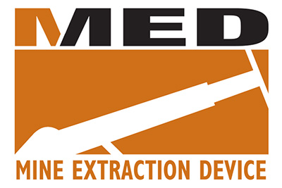 MED Mine Extraction Device Logo
