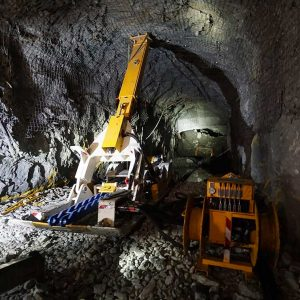 Mine Extraction Device Operation-1